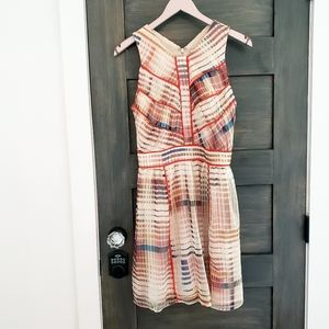 Adelyn Rae Summer plaid dress sz S